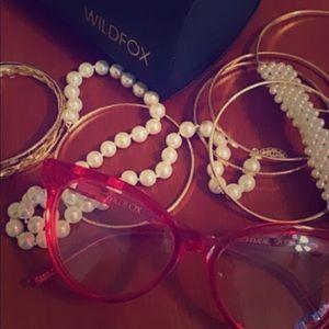 Wild fox glasses